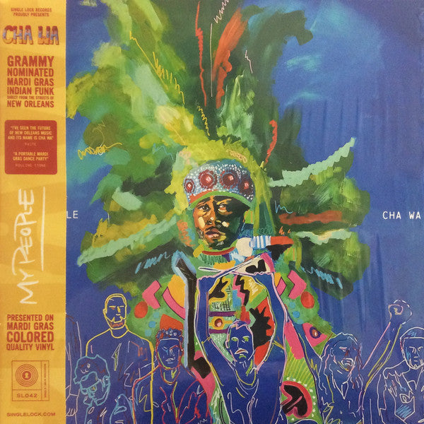 Cha Wa : My People (LP, Album, Cle)