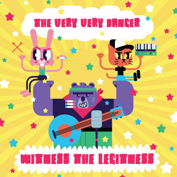 The Very Very Danger : Witness The Legitness (CD)