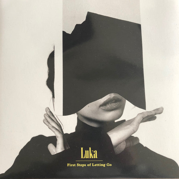 Luka (53) : First Steps Of Letting Go  (LP, Album, Whi)