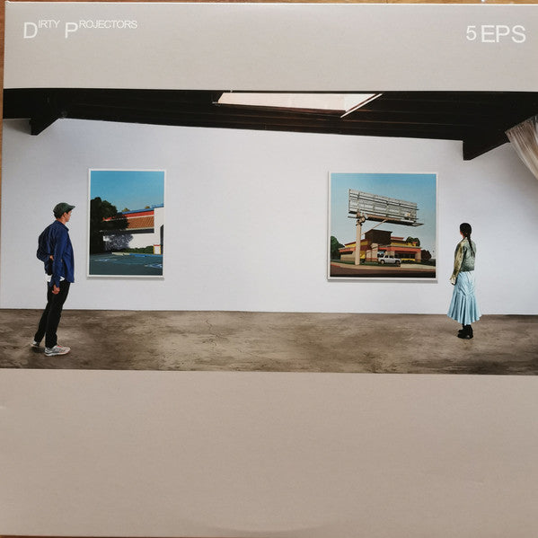 Dirty Projectors : 5 EPS (2xLP, Comp, Tri)