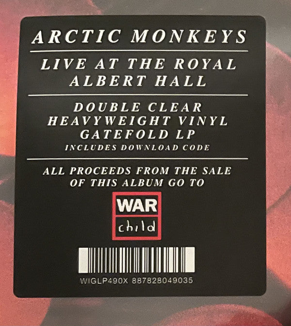 Arctic Monkeys : Live At The Royal Albert Hall (2xLP, Album, Cle)