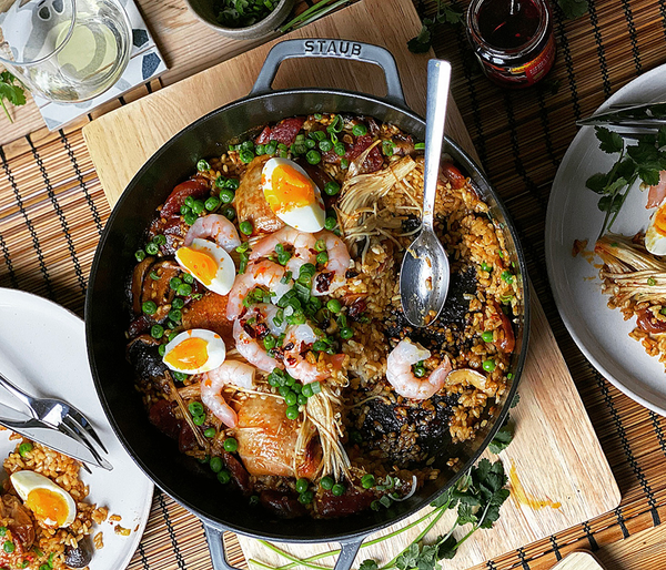 Chinese Paella Recipe