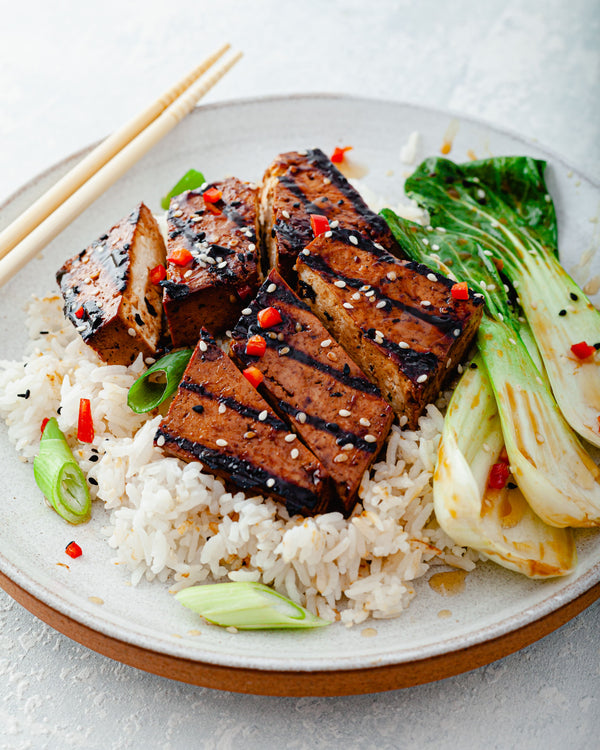Teriyaki Tofu Steaks