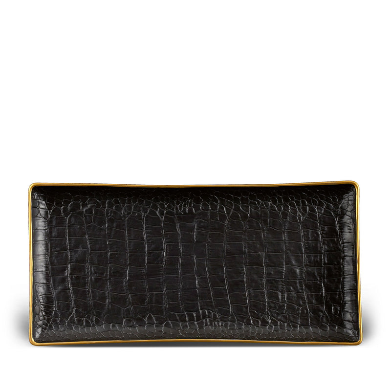 Crocodile Rectangular Tray - Medium
