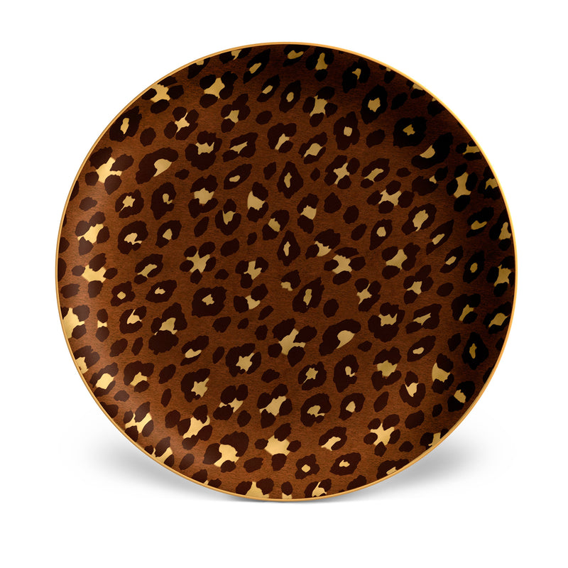 Leopard Charger/Cake Plate
