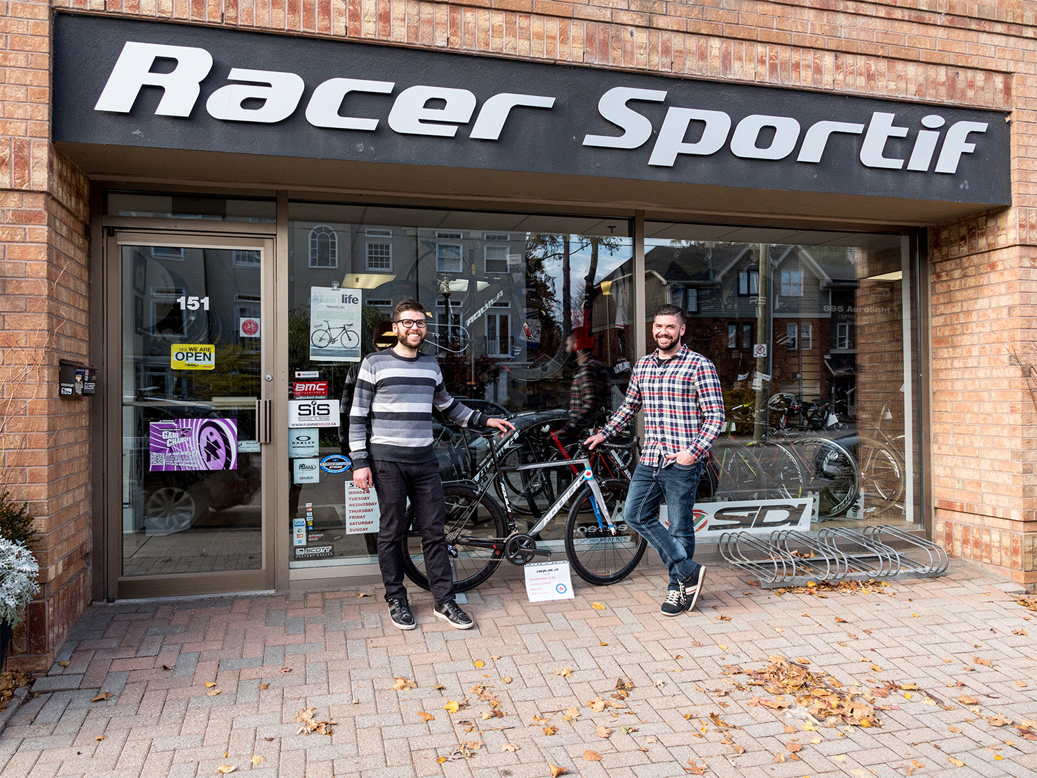 Brothers Frank and James Mizerski make it fun to visit Racer Sportif in Oakville