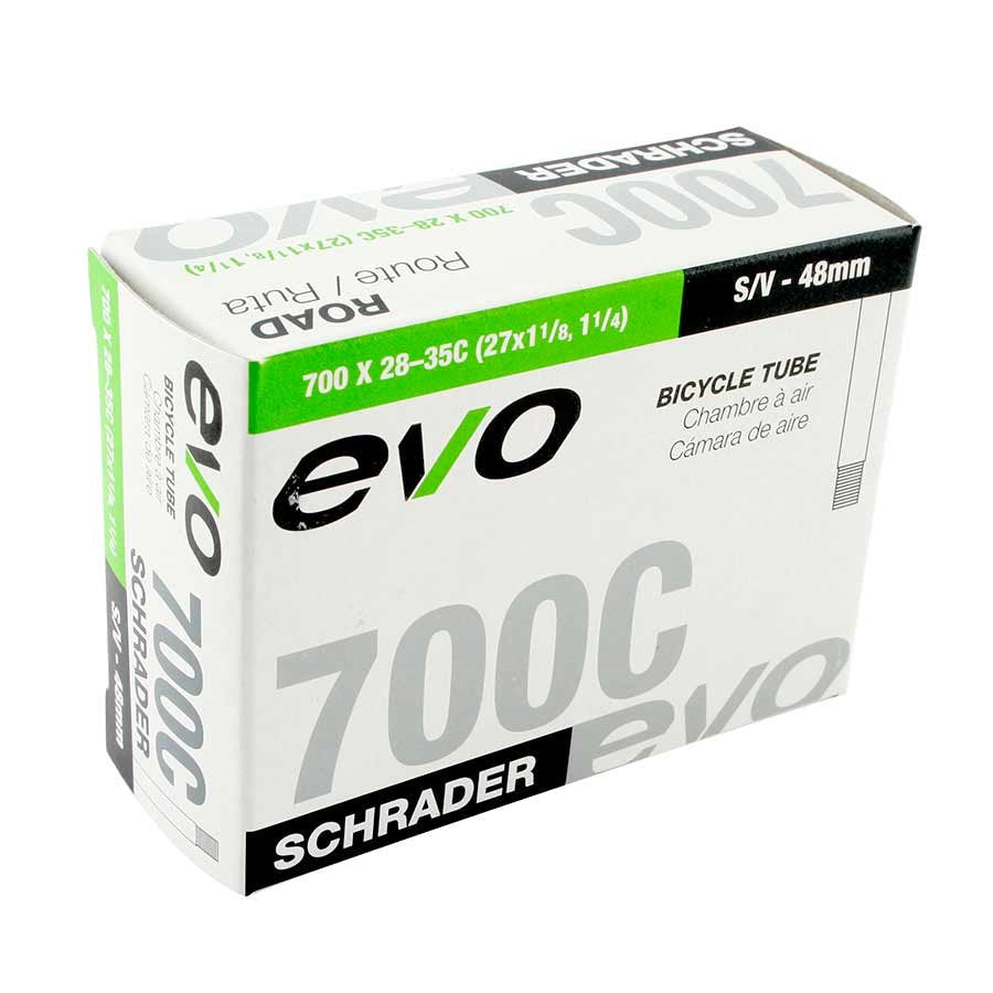 Evo Schrader Bicycle Inner Tube - 700 x 35-43c - 32 mm Valve