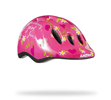 Lazer Kid's Max+ Helmet - Strawberry Girl