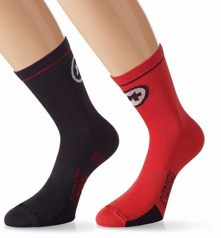 Assos EquipeSock_evo7 national red and black