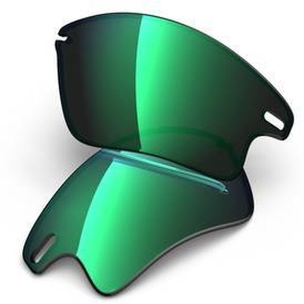 Oakley Fast Jacket Jade Iridium Lenses