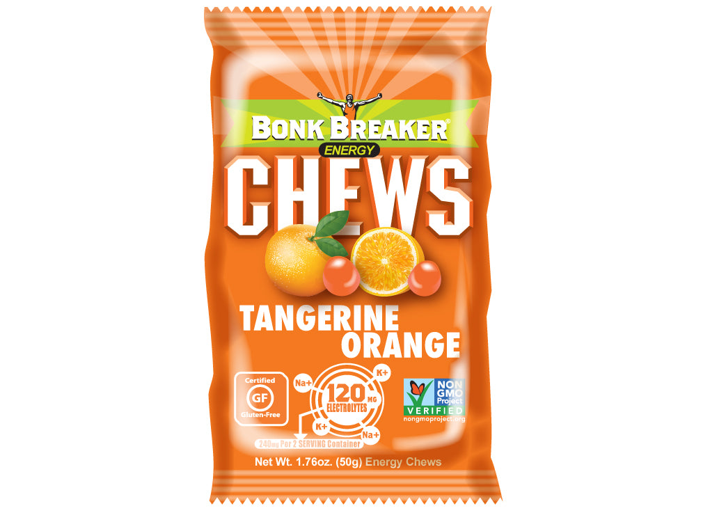Bonk Breaker Energy Chews Tangerine Orange