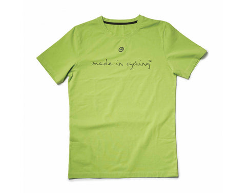 "Assos Lady's SS T-Shirt ""Made in Cycling"" front"