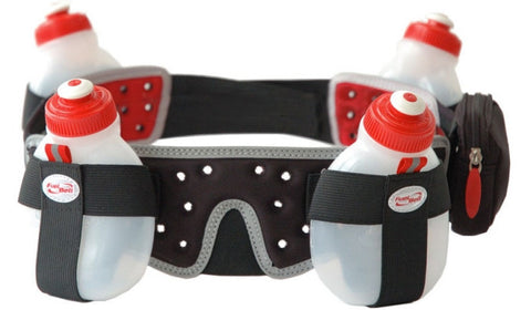 Profile Design 4 Bottle Helium Fuel Belt - Racer Sportif