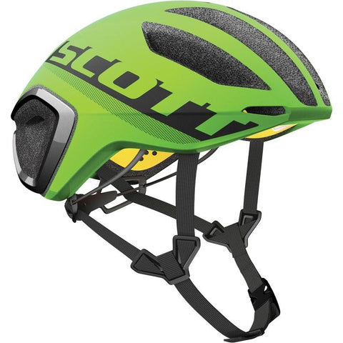 Scott Cadence Plus Aero Road Helmet - Flash Green/Black