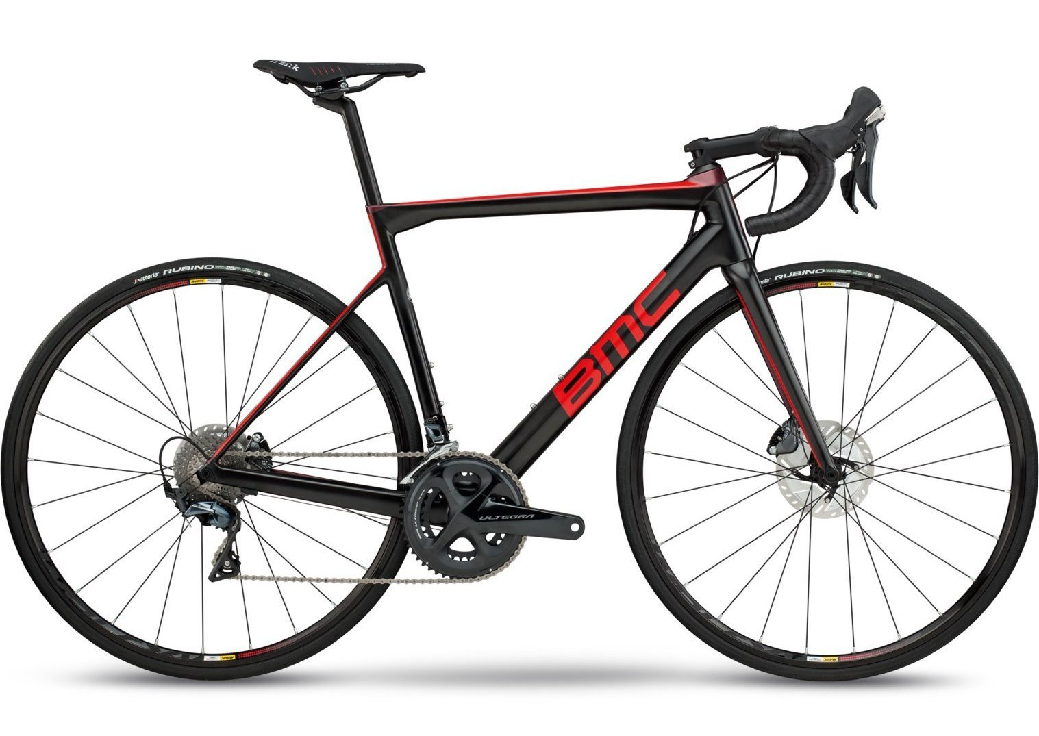 2018 BMC Teammachine SLR02 Disc TWO - Ultegra Road Bike - Carbon Bordeaux