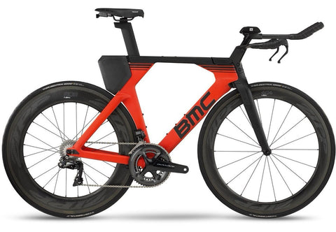 2018 BMC Timemachine01 ONE - Dura Ace Di2 Tri Bike - Super Red