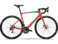2018 BMC Roadmachine 02 Disc ONE - Ultegra Di2 Road Bike - Neon Red