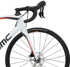 2018 BMC Roadmachine 02 Disc Three - 105 Road Bike - White Black