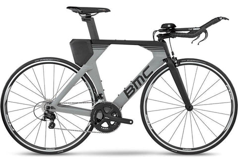 2018 BMC Timemachine02 THREE - 105 Tri Bike - Grey
