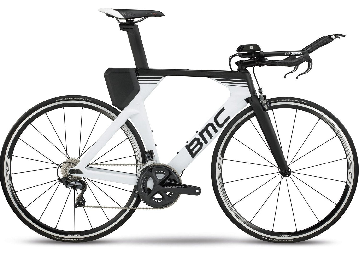 2018 BMC Timemachine02 TWO - Ultegra Tri Bike - White