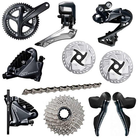 Shimano Ultegra R8070 Di2 Groupset - Hydraulic Disc Brakes