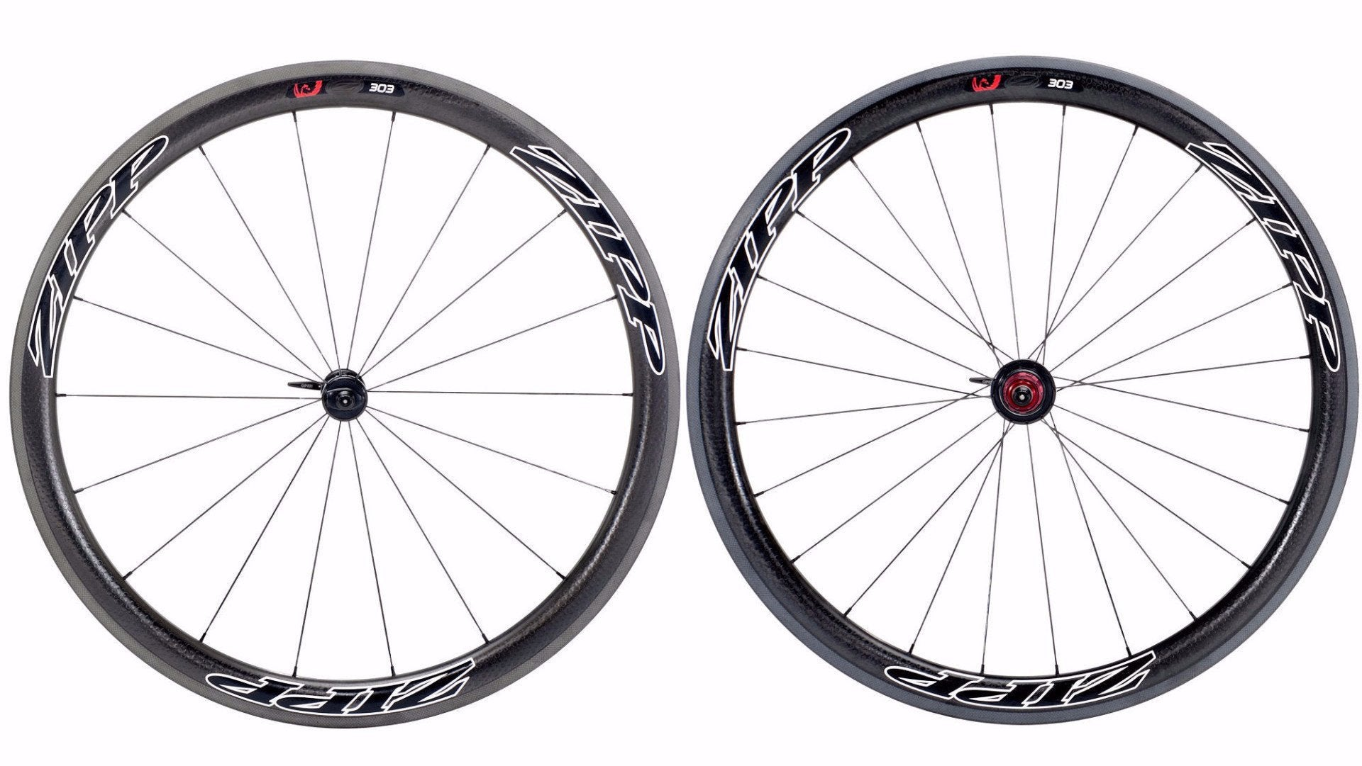 2013 Zipp 303 Firecrest Carbon Tubular 10/11 Speed Wheel Set - Racer Sportif