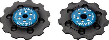 SRAM Force Road Jockey Wheel Set w/ Zerø Bearings BLUE - Racer Sportif