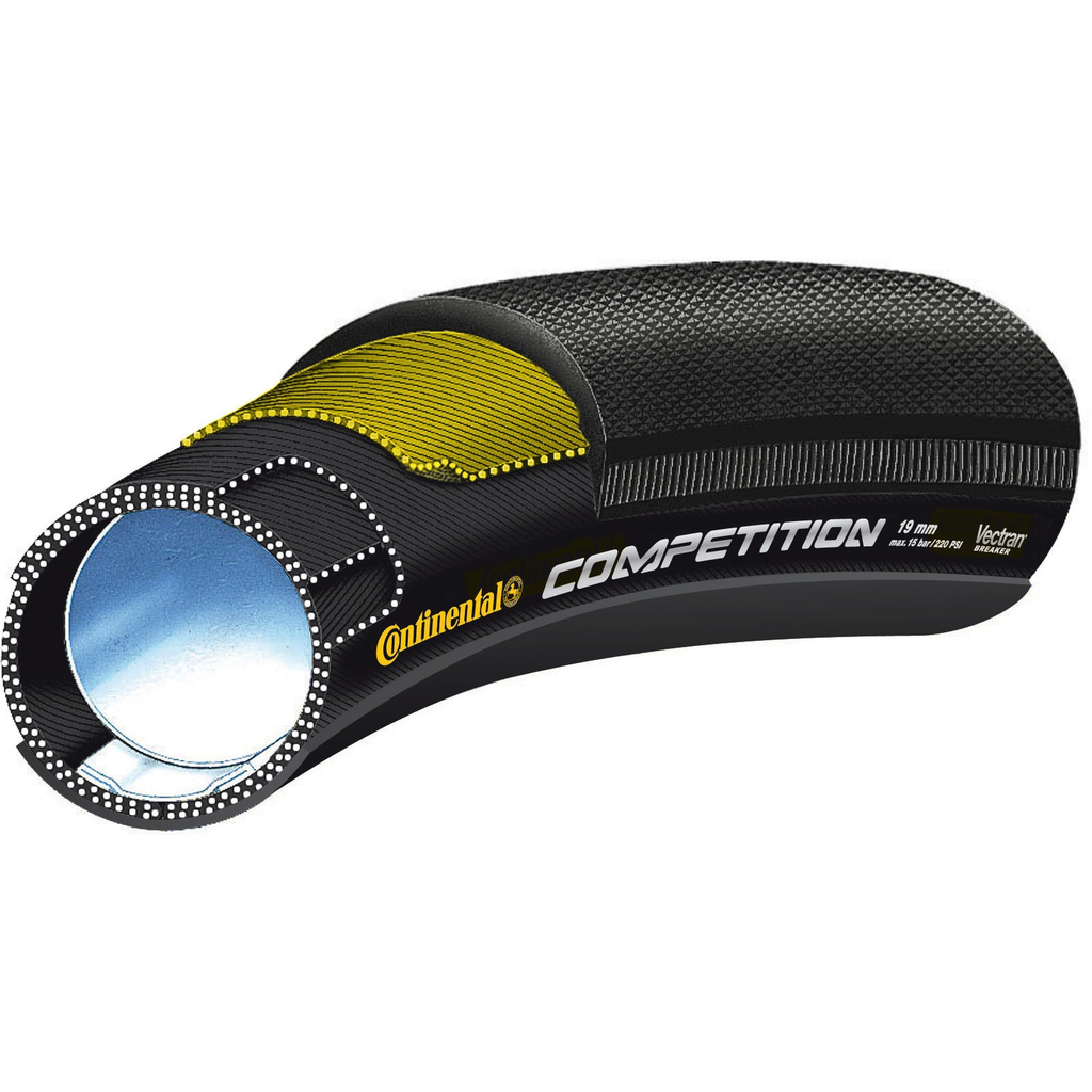 Continental Competition 19 26x3/4 Tubular Tire - Racer Sportif