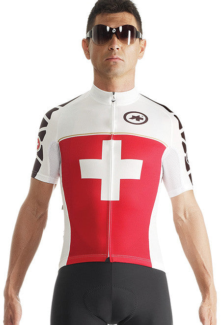 Assos sS.SuisseFed jersey_EVO7 - Racer Sportif