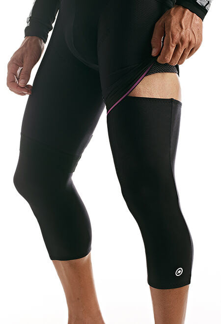 Assos KneeWarmer_evo7 block black