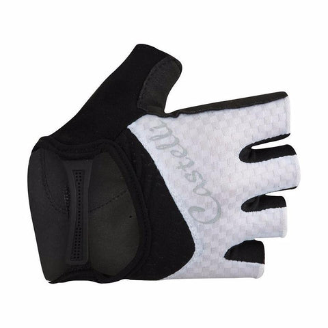 Castelli Arenberg Women's Gel Gloves - White & Black