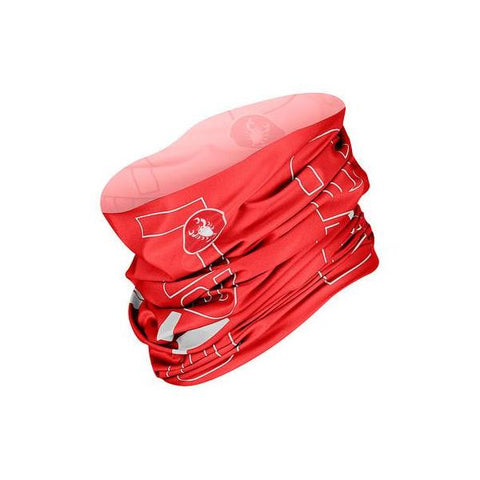 Castelli LW Head Thingy - Red & White