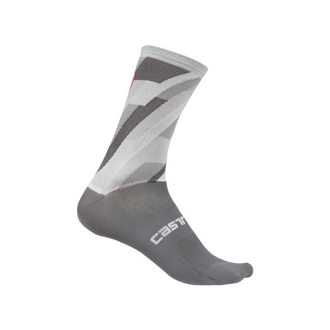 Castelli Geo 15 Sock Grey