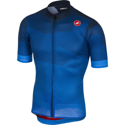 Castelli Men's Flusso Full Zipper Jersey