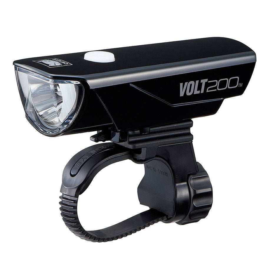 Cateye Volt 200 HL-EL151RC Headlight - Black
