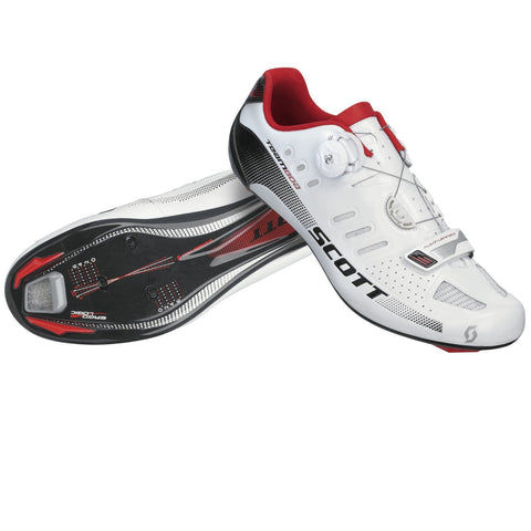 Scott Men's Team BOA Road Shoe white