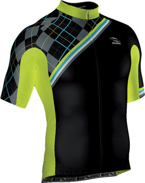 Suarez Men's Short Sleeve Neon Dreams Cycling Jersey - Racer Sportif