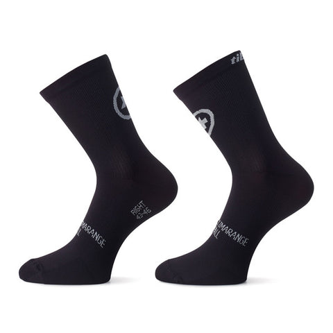 Assos TiburuSock_evo8 - Twin Pack - Black Series
