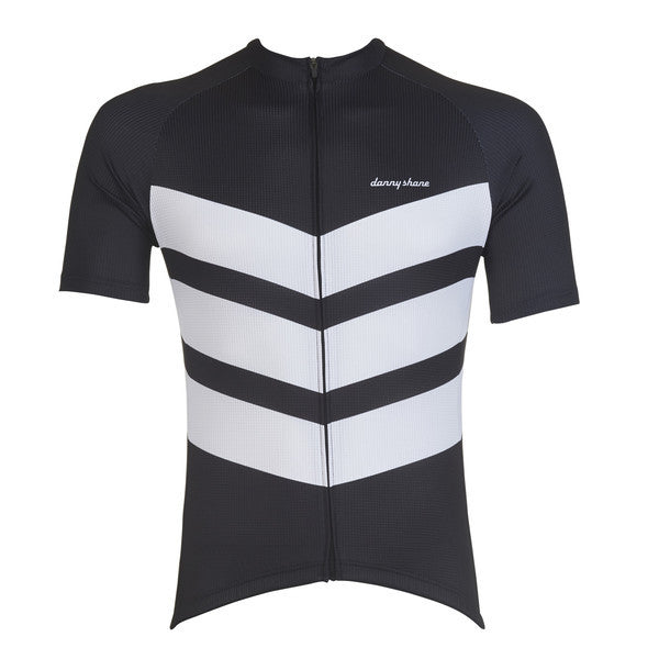 Danny Shane Men's Aston Black Performance Jersey front