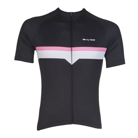 DannyShane Men's Bolt Performance Jersey Black - Racer Sportif