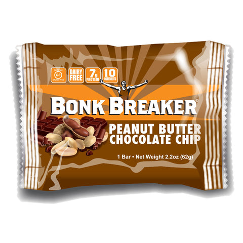 Bonk Breaker Energy Bar Peanut Butter Chocolate Chip