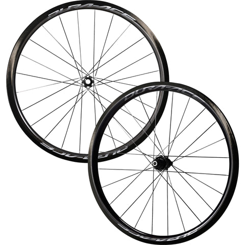 Shimano Dura Ace R9170 C40 Carbon Tubular Wheel Set Center Lock Disc - Racer Sportif