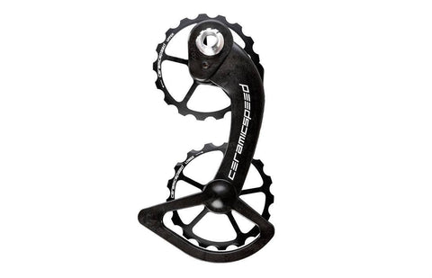 CeramicSpeed Oversized Pulley Wheelset alloy Shimano 10+11s Black