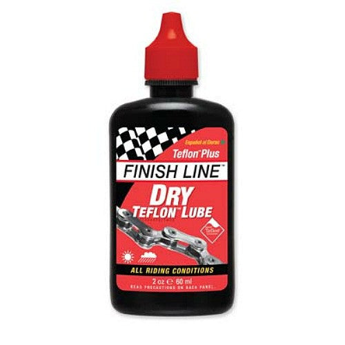Finish Line Tefelon Plus Dry Lube 60ml - Racer Sportif