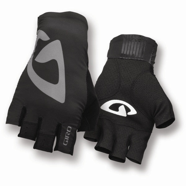 Giro LTZ Short Finger Gloves - Medium - Black Charcoal