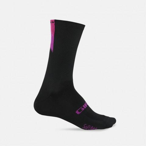 Giro Comp Racer High Rise Sock - Bright Pink