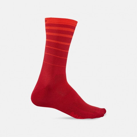 Giro Comp Racer High Rise Sock - Red Six String