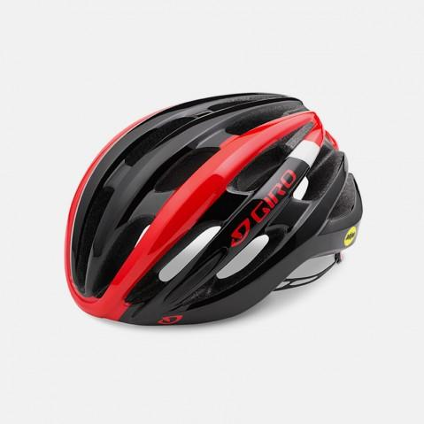Giro Foray MIPS Road Helmet - Red & Black