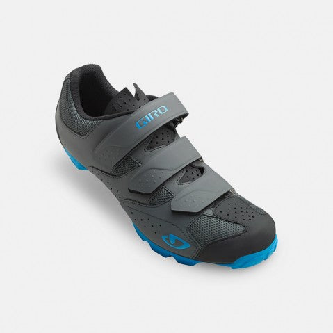 Giro Carbide RII XC Shoe - Dark Shadow & Blue Jewel