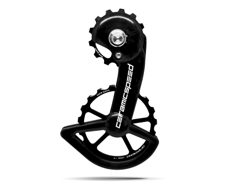 CeramicSpeed Oversized Pulley Wheelset alloy Shimano 9100 Black